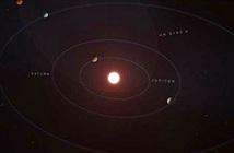 Hành tinh lạ di chuyển trên quỹ đạo hình quả trứng