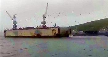 Nghiêm trọng: Tàu ngầm Kilo, tàu chiến Nga va chạm trên biển