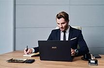 Laptop Summit: MSI lấn sân từ gaming sang dòng doanh nhân cao cấp
