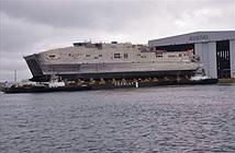 [ẢNH] Mỹ hạ thủy tàu đổ bộ siêu tốc JHSV thứ 5