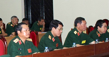 Diễn tập chỉ huy tham mưu một bên hai cấp có một phần thực binh