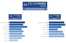 Dxomark: Camera Galaxy Note 8 cho khả năng chụp ảnh tốt nhất thế giới