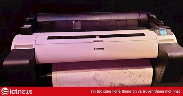 Canon ra mắt dòng máy in khổ lớn imagePROGRAF TM Series