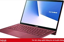 Laptop cao cấp ASUS ZenBook S có thêm phiên bản đỏ Burgundy