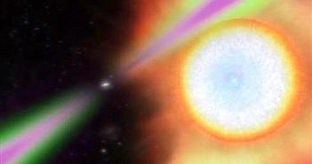 """Tốc độ """"khủng"""" tia gama từ sao neutron quay 707 lần/ giây"""