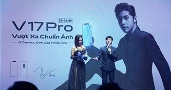 Vivo ra mắt V17 Pro với đại sứ Noo Phước Thịnh, giá 10 triệu đồng