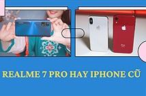 Sao phải mua iPhone cũ khi Realme 7 Pro ngon hơn
