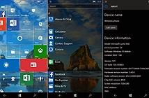 Microsoft đang thử nghiệm nội bộ phiên bản hoàn chỉnh Threshold 2 của W10M, phát hành tuần này