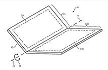 iPhone tương lai có thể gập làm đôi?
