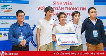 ĐH Công nghệ thông tin - ĐHQG TP.HCM vô địch vòng sơ khảo An toàn thông tin sinh viên phía Nam
