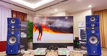 Hệ thống âm thanh triệu euro với siêu loa Focal Grande Utopia EM EVO lần đầu tiên xuất hiện tại Việt Nam