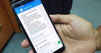 Mất trắng tiền trong tài khoản ngân hàng nếu làm theo tin nhắn lạ