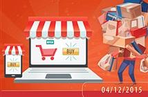 """Nhiều ngân hàng chiết khấu """"khủng"""" trong ngày Online Friday 4/12"""