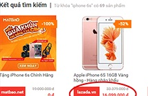 Thất vọng vì đại hạ giá ảo của Lazada, HC.com.vn, Sendo...trong ngày OnlineFriday