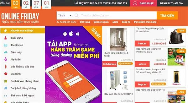 Thi nhau chạy ưu đãi mừng Online Friday 4/12