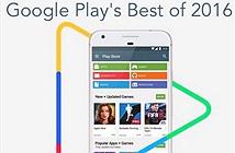 Google công bố những ứng dụng và nội dung hot nhất 2016 trên Google Play