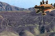 """Kỳ bí """"con cá voi sát thủ"""" khổng lồ trên sườn đồi ở Peru"""