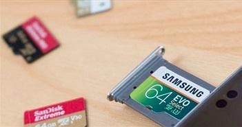 Làm thế nào để kiểm tra tốc độ thẻ microSD trên Android