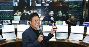 Smartphone 5G của Samsung lần đầu gọi video call