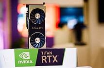 """NVIDIA giới thiệu """"Vị Thần"""" của kiến trúc Turing - Titan RTX"""