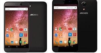 [CES 2016] ARCHOS giới thiệu 4 điện thoại giá rẻ mới thuộc dòng Power và Cobalt, giá chỉ từ 50 Euro