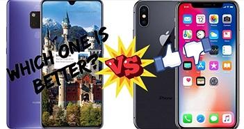 Nên mua iPhone X cũ giá 16 triệu đồng hay chọn Huawei Mate 20?