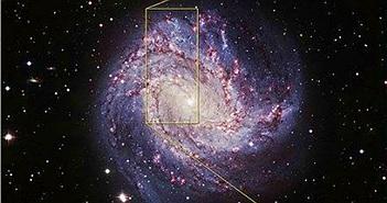 Sửng sốt lỗ đen bùng phát trong thiên hà xoắn ốc M83