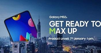 Samsung Galaxy M02s giá rẻ ra mắt ngày 7/1