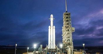 SpaceX sẽ phóng tên lửa mạnh nhất thế giới lên sao Hỏa ngày mai