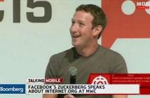 Mark Zuckerberg nói về Internet.org, khán giả buồn ngủ