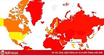 Việt Nam xếp thứ 13 thế giới về chuyển đổi mạng Internet sang IPv6
