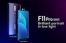 OPPO F11 Pro ra mắt: Camera 48MP chụp thiếu sáng ấn tượng, camera selfie thò thụt