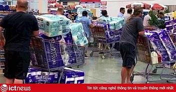 Lí do dân nhiều nước đổ xô 'vét' giấy vệ sinh khi dịch Covid-19 bùng phát
