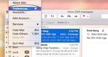 Đặt Outlook làm email mặc định cho máy tính Mac