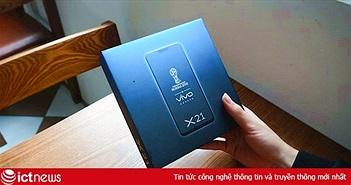 Smartphone vân tay dưới màn hình đầu tiên về Việt Nam