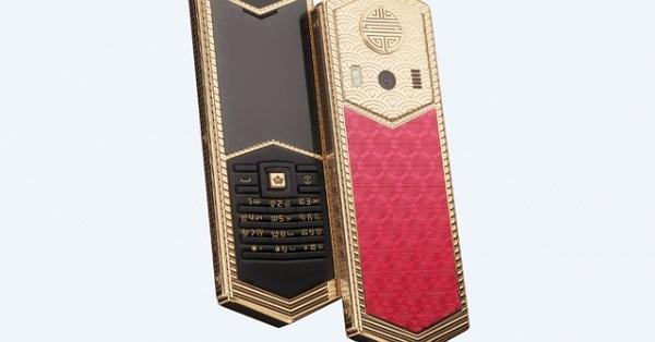 """""""Sốc"""" với chiếc điện thoại Vua Hùng cực độc từ Caviar, giá 98 triệu đồng"""