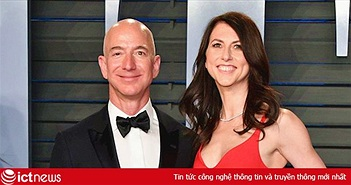 Vợ cũ Jeff Bezos được chia 35 tỷ USD sau ly hôn