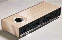 Loa không dây hi-end Naim Mu-so Wood Edition, phiên bản vỏ gỗ sang trọng