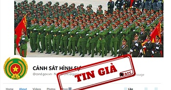 Lập fanpage 'Cảnh Sát Hình Sự' để giả mạo kênh thông tin của Bộ Công an