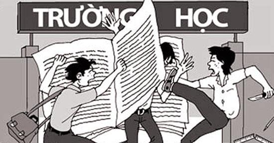 Bộ GD&ĐT vẫn giữ hình phạt sinh viên đưa nội dung bạo lực trên mạng