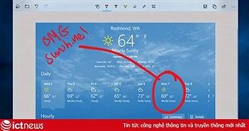 Chụp ảnh màn hình trong Windows 10 sẽ trở nên rất đơn giản