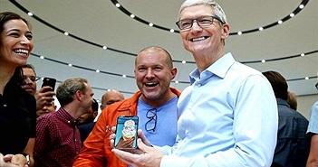 CEO Apple Tim Cook khẳng định 99% người dùng hài lòng với iPhone X