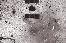 Bất ngờ miệng núi lửa nhân tạo đầu tiên trên tiểu hành tinh