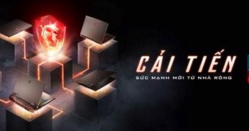 MSI nâng cấp toàn diện 6 dòng sản phẩm laptop chơi game lên CPU Intel thế hệ 10