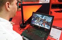 Laptop MSI giúp bạn chơi game bằng... mắt