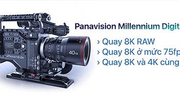 Panavision và RED ra mắt máy quay điện ảnh mạnh nhất hiện nay, quay RAW 8K, frame rate lên đến 75fps