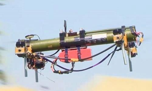 Kỳ dị UAV kiêm tên lửa chống tăng của Belarus
