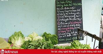 """Cô bán rau """"chảnh"""" nhất Sài Gòn, khiến cộng đồng mạng nổi sóng"""