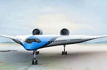 Trên chiếc máy bay hình chữ V này, hành khách ngồi trên cánh