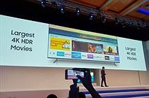 TV QLED Samsung sau những cú bắt tay lịch sử với Apple và Universal Picture Home